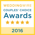 Wedding Wire Couples Choice Badge 2016